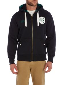 Ireland Zip Through Hoody