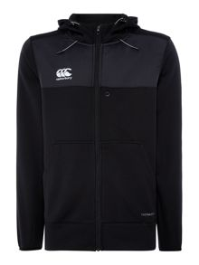 Canterbury Thermoreg Plain Crew Neck Pull Over Zip-Thru