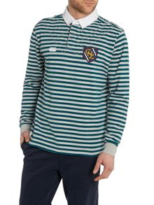 Pattern Regular Fit Rugby Top