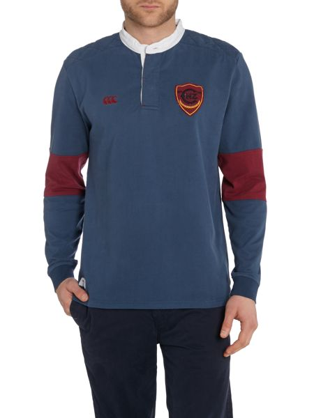 Canterbury Plain Grandad Collar Regular Fit Rugby Top