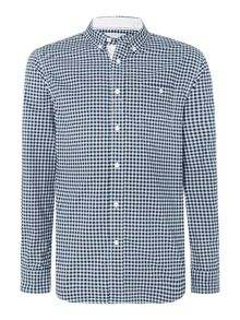 Canterbury Gingham Long Sleeve Button Down Shirt