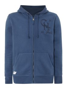 Plain Zip Hoody