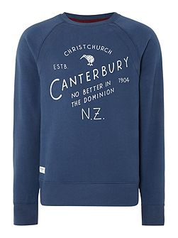 Christchurch Plain Crew Neck Pull Over Overhead
