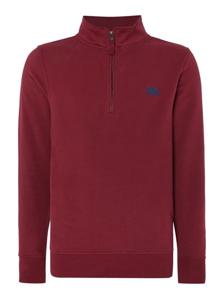 Canterbury Plain Zip Collar Sweatshirt