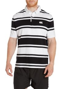 Canterbury Stripe Loop Collar Rugby S/S