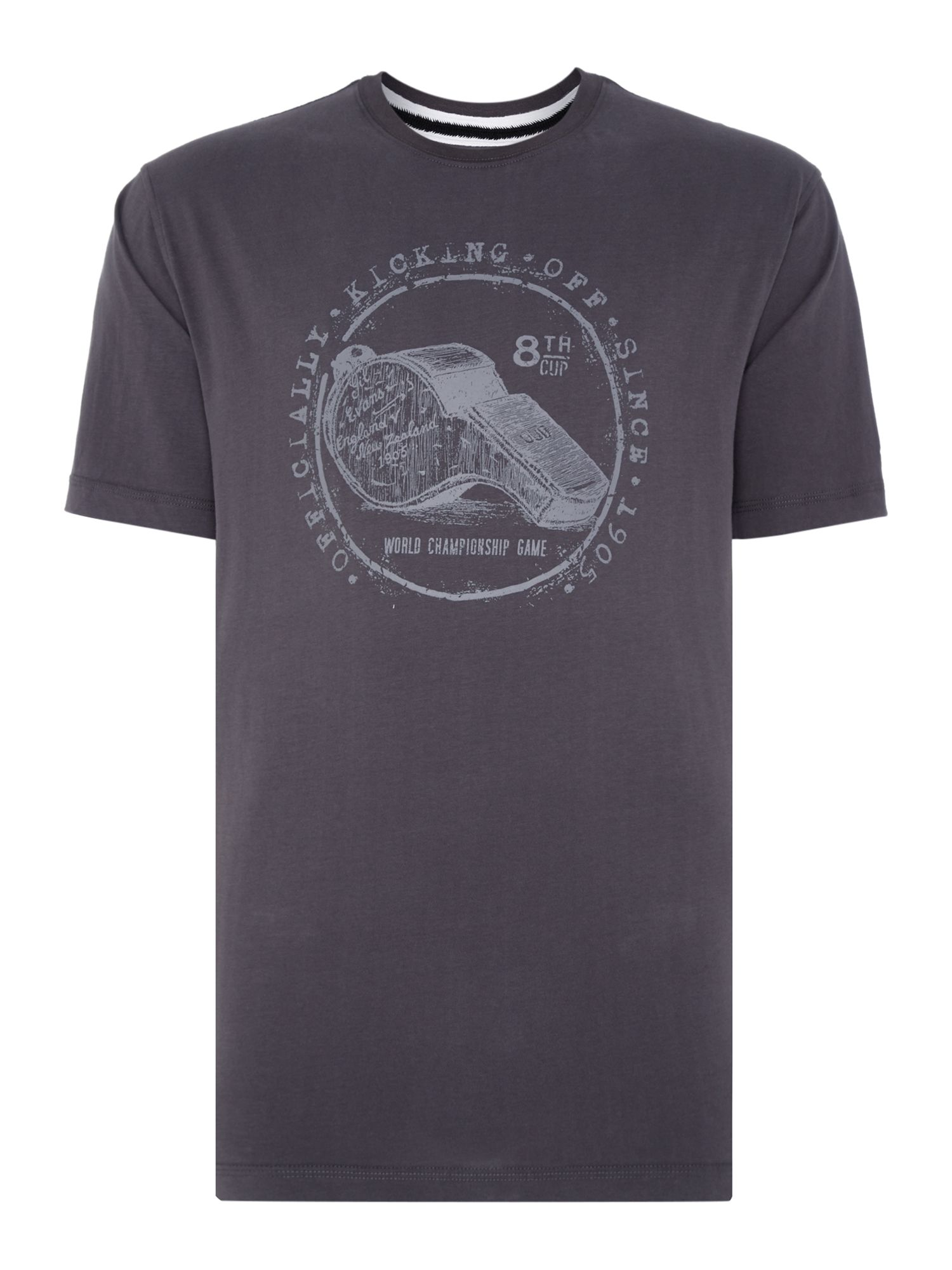 Men's Canterbury Whistle Tee, Grey