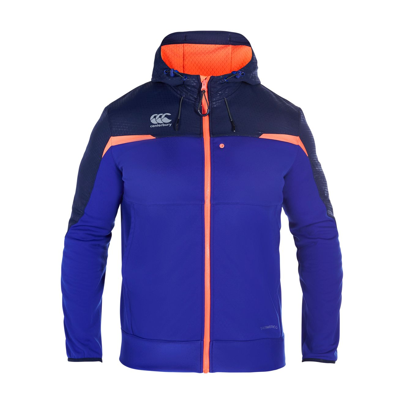 Men's Canterbury Thermoreg Full Zip Hoody, Blue