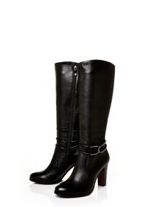 Moda in Pelle Valatie high smart long boots