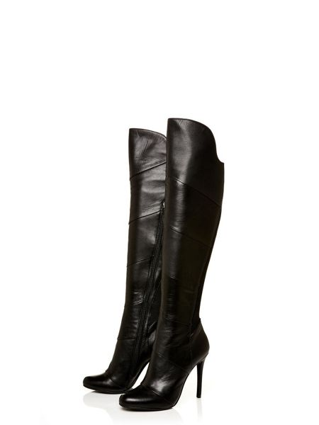 Moda in Pelle Vancouver high smart long boots