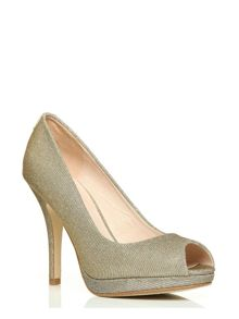 Moda in Pelle Cavallo very high occasion shoes