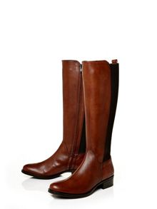 Moda in Pelle Sanchia low smart long boots