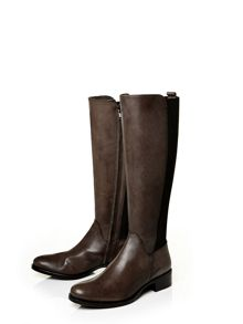 Sanchia low smart long boots