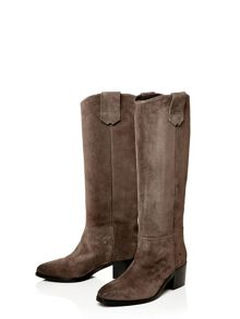 Moda in Pelle Garcina medium casual long boots