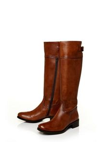 Moda in Pelle Violas low smart long boots