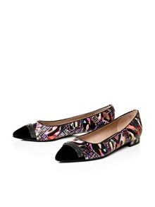 Moda in Pelle Faria flat smart shoes