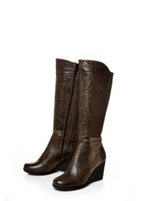 Moda in Pelle Geraldina high casual long boots