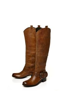 Moda in Pelle Guiliana medium casual long boots