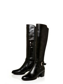 Moda in Pelle Torina low smart long boots