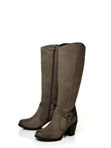 Moda in Pelle Gallino low casual long boots