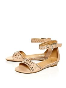 Moda in Pelle Rosana wedged sandals