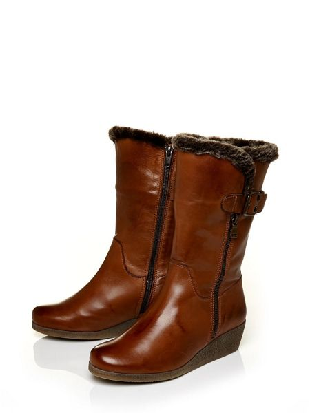 Moda in Pelle Farino low casual short boots