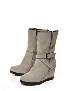 Moda in Pelle Gracia high casual short boots