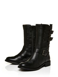 Moda in Pelle Henrita low casual long boots