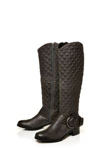 Moda in Pelle Galiano low casual long boots