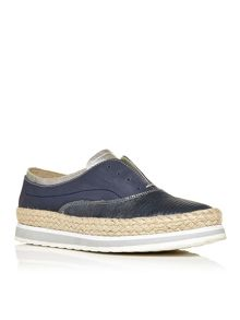 Moda in Pelle Arlotta laceless brogues