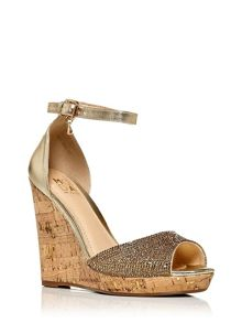 Moda in Pelle Wilmia peep toe sandals