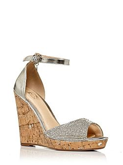 Wilmia peep toe sandals