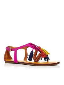 Moda in Pelle Nari tassel sandals