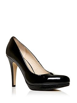 Civello high heel platform court shoes