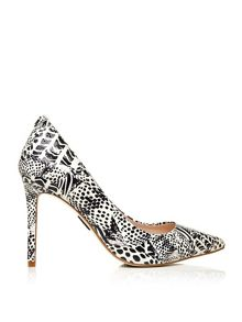 Moda in Pelle Cappi stiletto high heel pointed toe court shoes