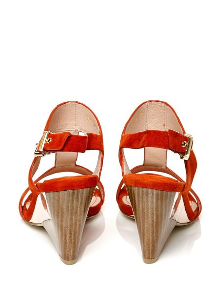 Moda in Pelle Cecilia low demi wedged sandals
