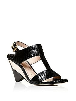 Cecilia low demi wedged sandals