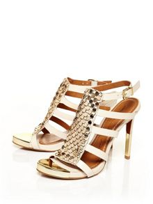 Moda in Pelle Rainey high heeled strappy sandals