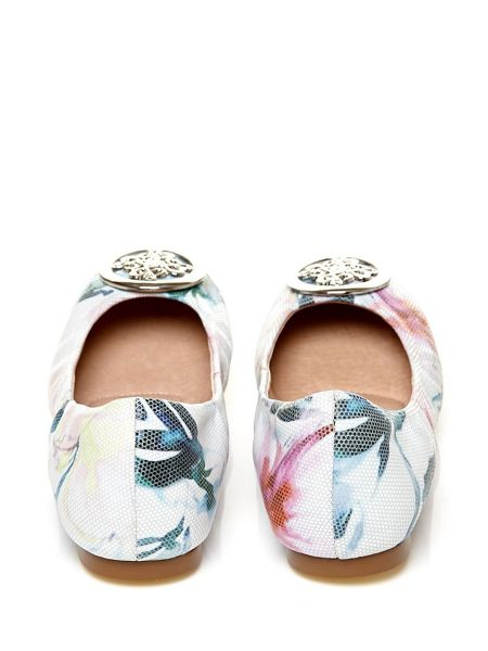 Moda in Pelle Elvisa ballerina shoes