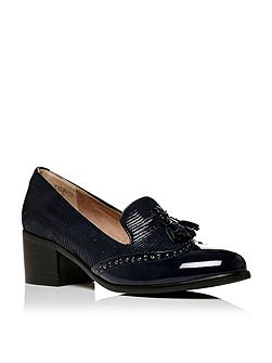 Carletta block heel loafers
