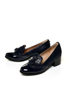 Moda in Pelle Carletta block heel loafers