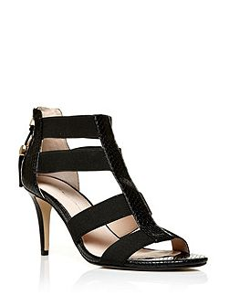 Morgana mid heeled sandals