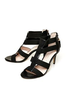 Moda in Pelle Morgana mid heeled sandals