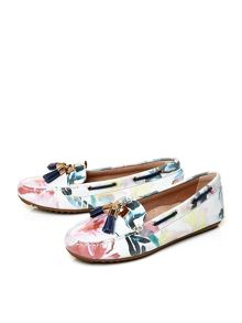 Moda in Pelle Elda flat moccasin shoes