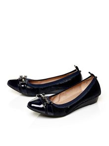 Moda in Pelle Eliseo pointed toe ballerina shoes