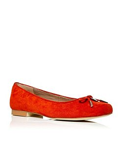 Moda in Pelle Francha square toe ballerina shoes