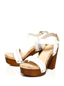 Moda in Pelle Maedon two part strap sandals