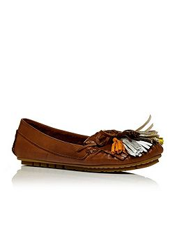 Asella moccasin shoes