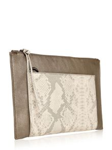Moda in Pelle Carraclutch clutch bag