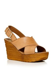 Moda in Pelle Paride wedge slingback sandals