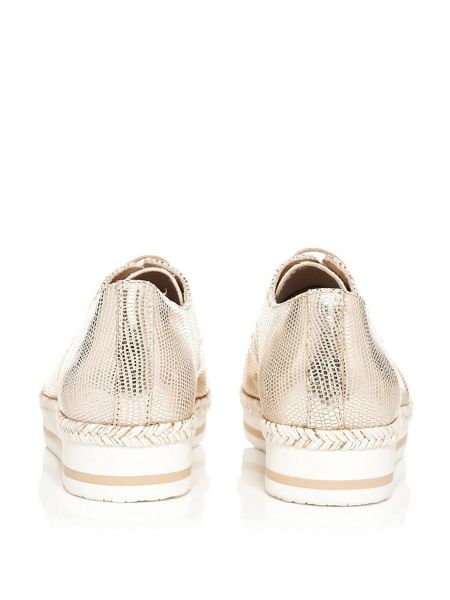 Moda in Pelle Emattia lace up patterned brogues